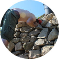pierre sèche