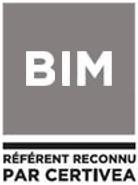 BIM - Référent reconnu par Certivea
