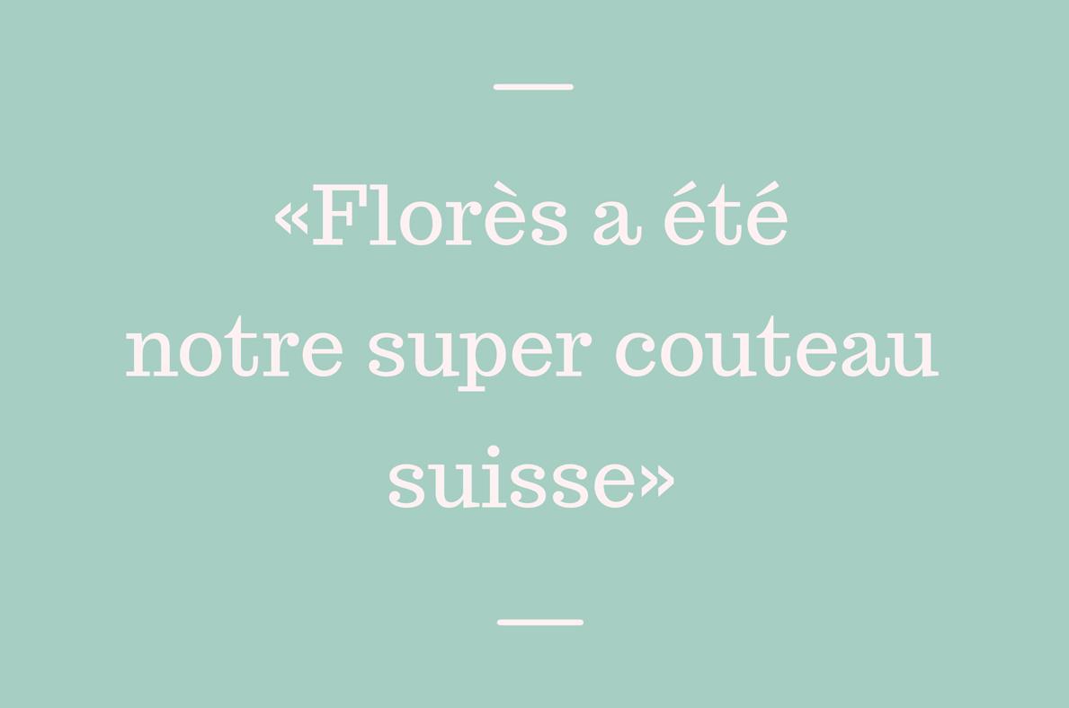 Florès, couteau suisse de l'aménagement tertiaire
